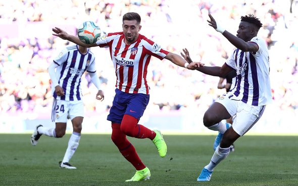 Image for Newcastle scout Valladolid defender Salisu