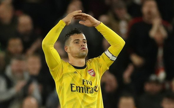 Image for Xhaka set for Arsenal talks