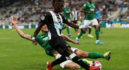 Newcastle fans slaughter Atsu