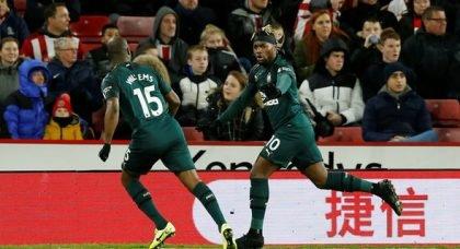 Newcastle fans rave over Saint-Maximin tweet