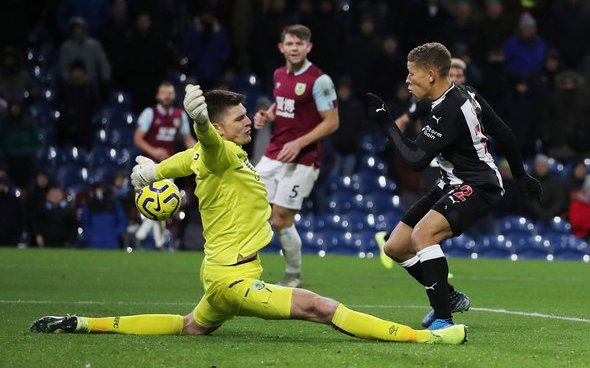 Image for John Gibson laments Newcastle's lack of firepower