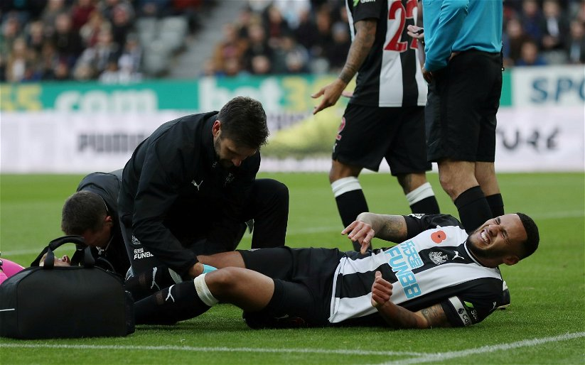 Image for Newcastle United injury news: Jamaal Lascelles in line to return against Rochdale