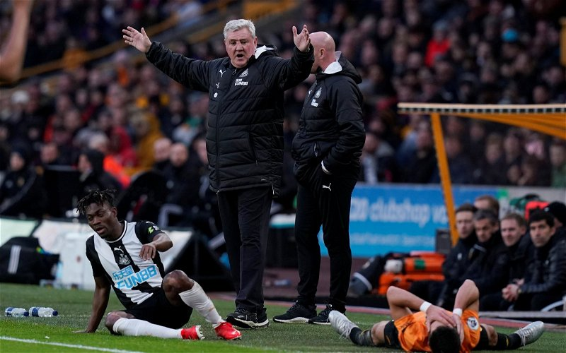 Image for Newcastle United injury crisis: Steve Bruce's comments on medical department invoke ire