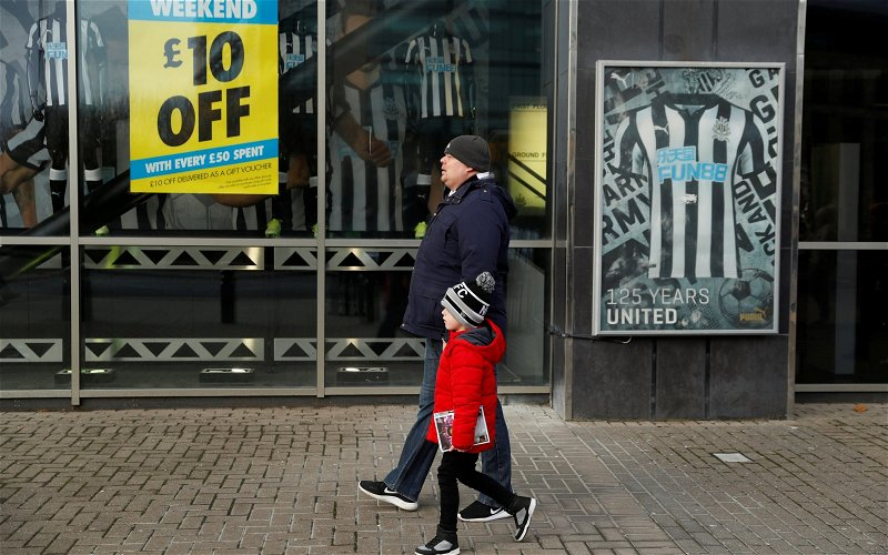 Image for Newcastle United merchandise: Club have released a shockingly out of date 2020 calendar