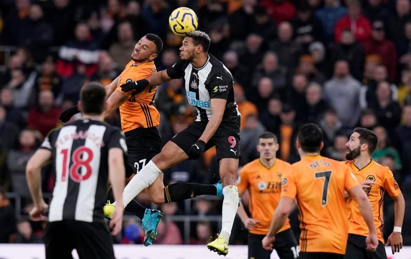 Joelinton: Newcastle United fans show support for striker amid smatterings of abuse