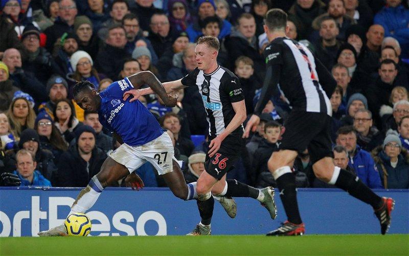 Image for Sean Longstaff: Newcastle United fans tear into midfielder after Everton shocker
