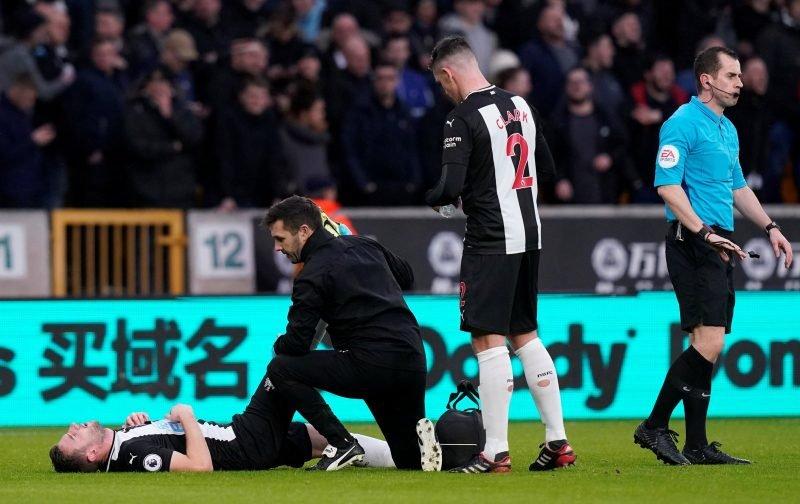 Paul Dummett: Newcastle United fans react to message after horrific injury news
