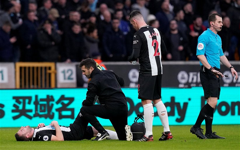 Image for Paul Dummett: Newcastle United fans react to message after horrific injury news
