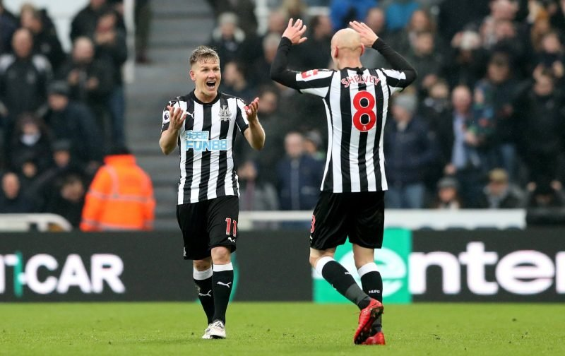 Newcastle United: Jonjo Shelvey and Matt Ritchie contract talks met with mixed response