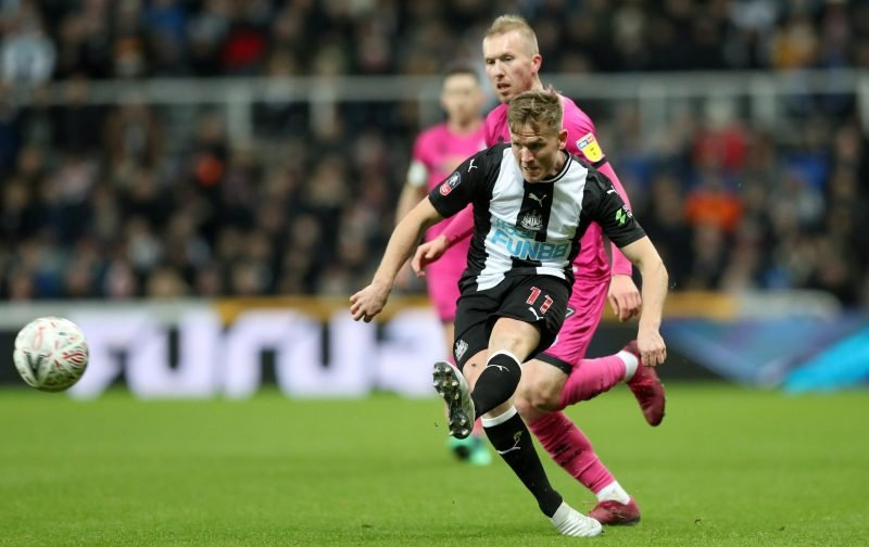 Matt Ritchie: Injury return has a number of Newcastle United fans online purring