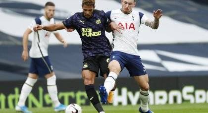 Joelinton: Functional rather than fantastic but a slight positive for Newcastle United
