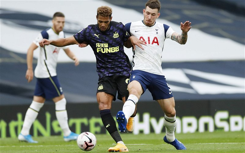 Image for Joelinton: Functional rather than fantastic but a slight positive for Newcastle United