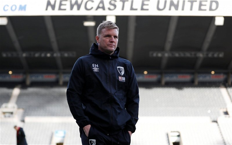 Image for News: Eddie Howe unlikely to be Steve Bruce's Newcastle United replacement
