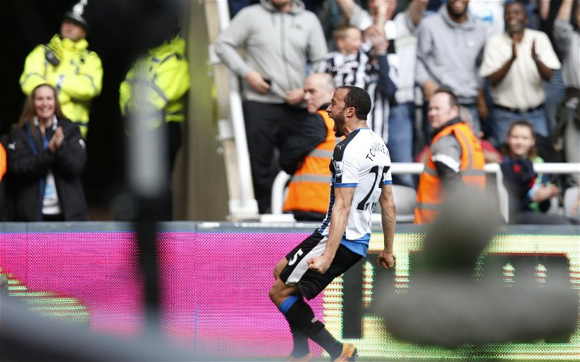 Image for Report: Andros Townsend Optimistic Over Newcastle's Future
