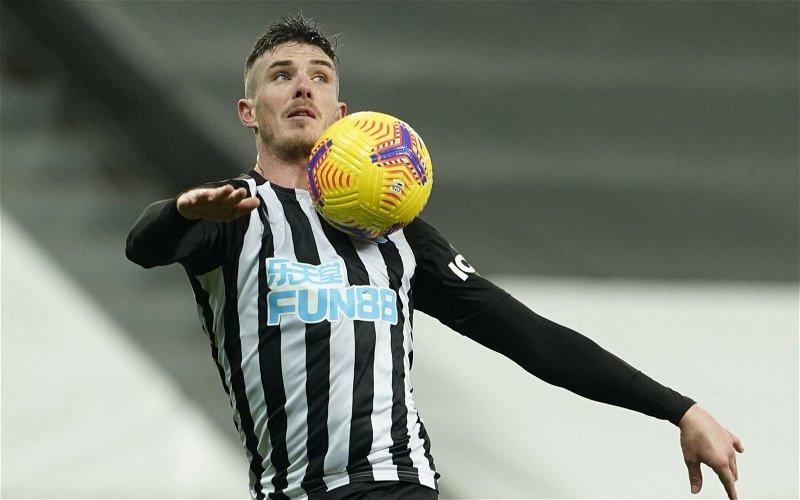 Image for Exclusive: Steve Howey hopes Newcastle United keep Ciaran Clark