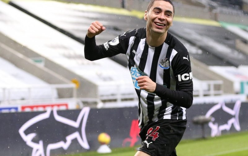 News: Possibility that Miguel Almiron could leave