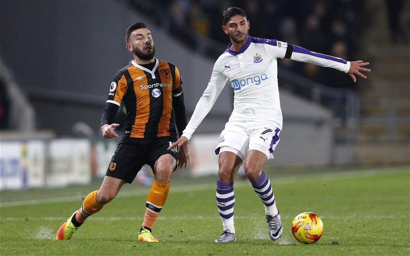 Image for News: Achraf Lazaar finally leaves Newcastle United
