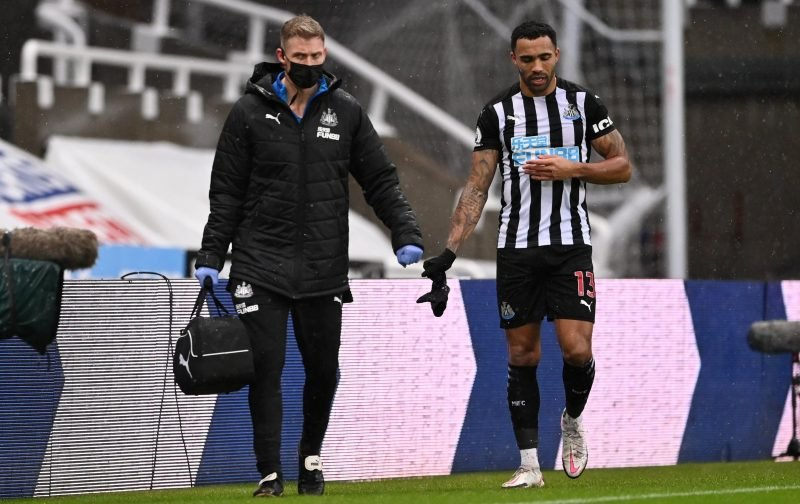 News: Callum Wilson ramping up injury return
