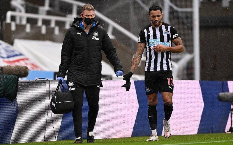 Image for News: Callum Wilson ramping up injury return