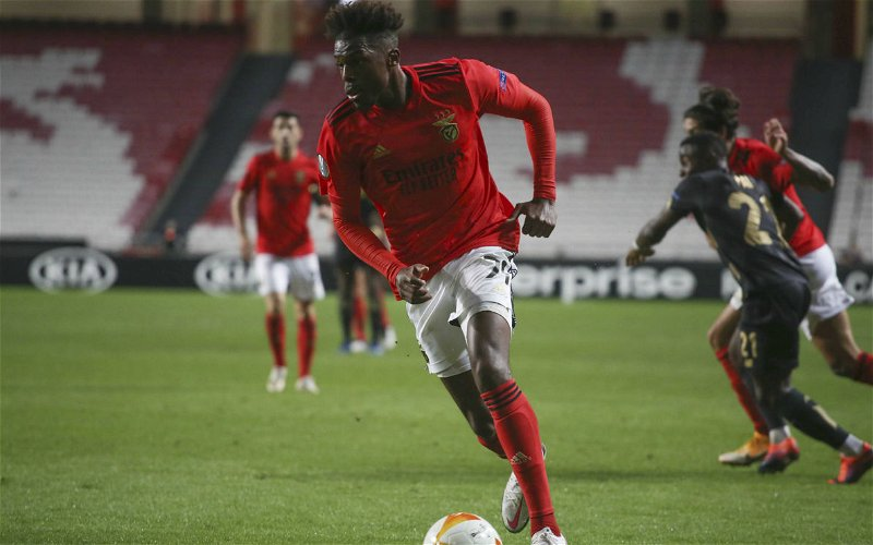 Image for News: Newcastle keen on Benfica Full-back Nuno Tavares