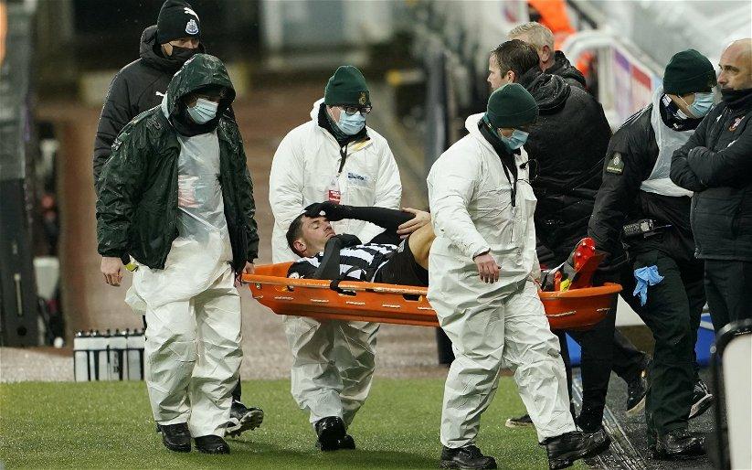 Image for Newcastle injury news: Fabian Schar making good progress on injury front