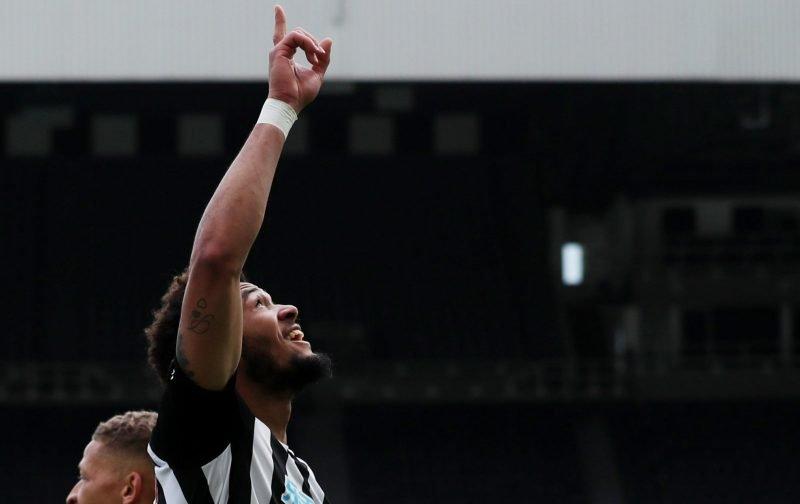 Joelinton's Tottenham Hotspur performance earning a huge amount of praise