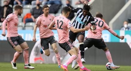 News: Allan Saint-Maximin could be open to offers this summer