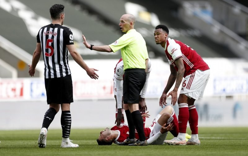 News: Keith Hackett questions decision to send Fabian Schar off against Arsenal