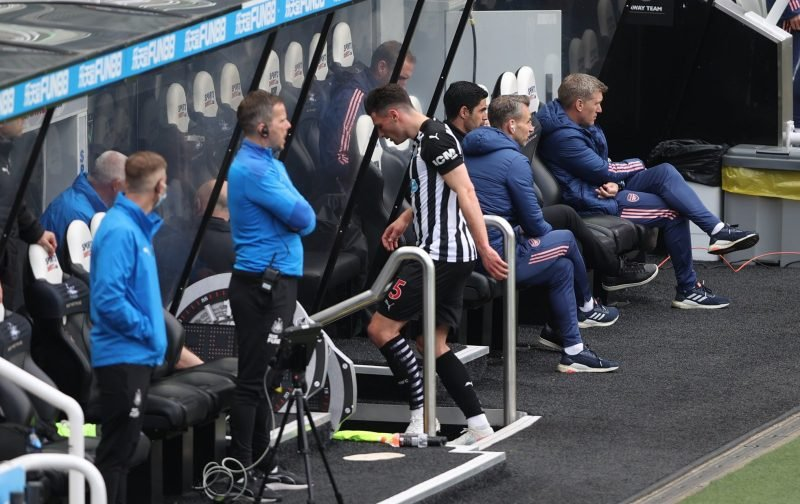 News: Newcastle United want Fabian Schar to sign a new contract soon