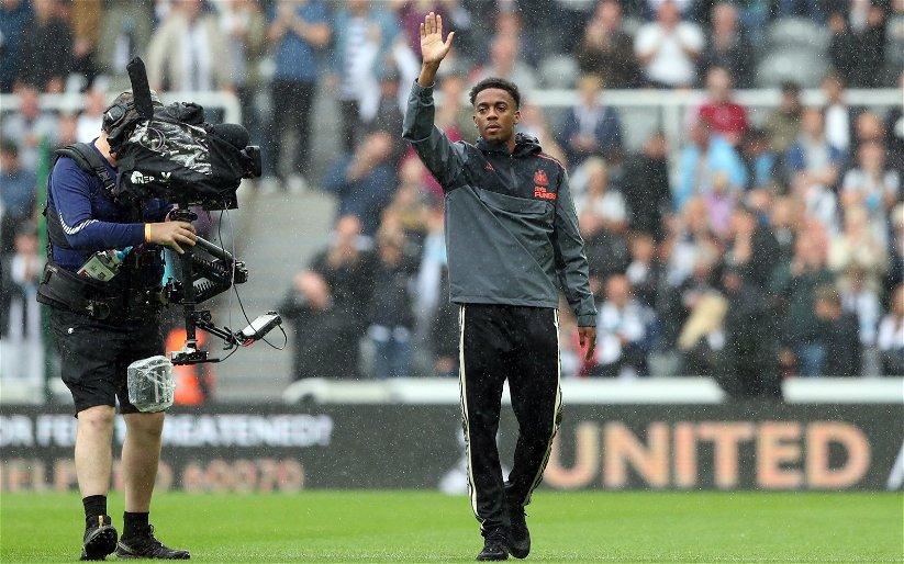 Image for News: Joe Willock talks up Newcastle United ambition