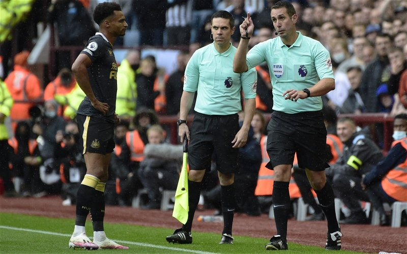 Image for News: Keith Hackett weighs in on Newcastle United's VAR debate